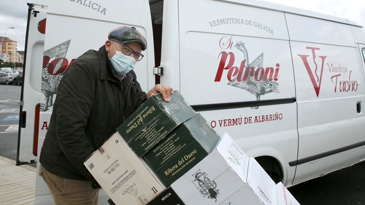 Imagen de Boiro, municipio en el que ayer había 18 vecinos a tratamiento por el covid