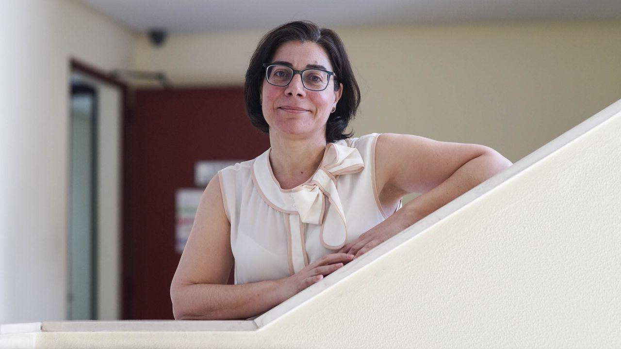 Ana Isabel González, jefa del servicio de Alertas Epidemiológicas en Ourense