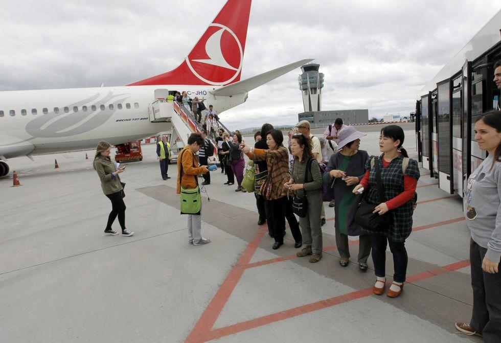 Tres explosiones sacuden el aeropuerto de Estambul.Atentado en Estambul