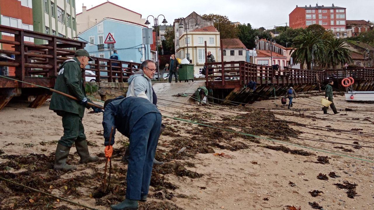 Inundaciones en el colegio de Jove de Gijón