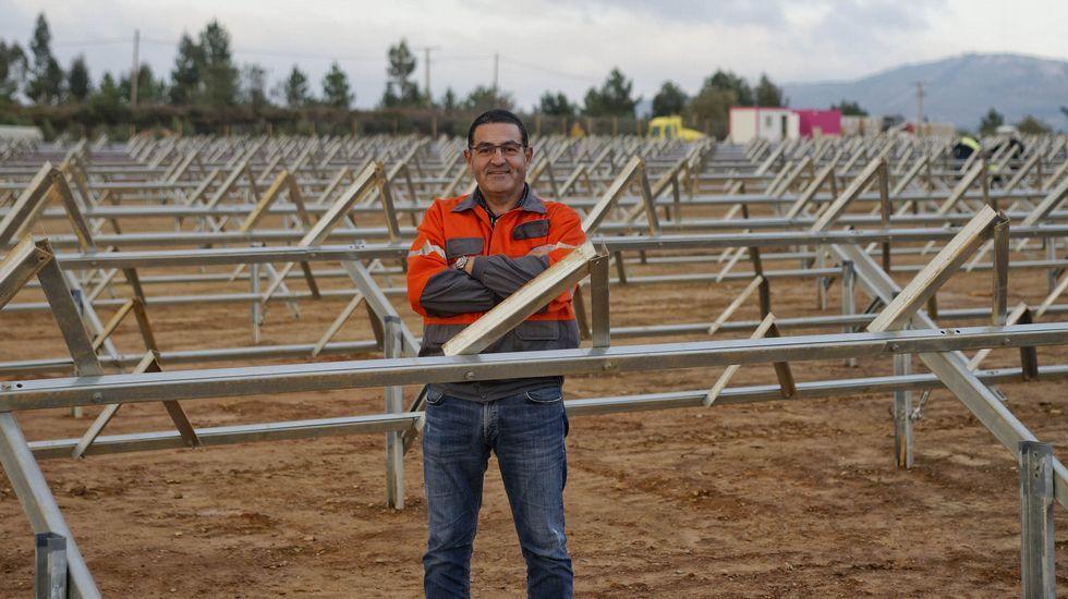 GREENALIA.Benigno Redondo es dueño de dos gasolineras, una en Poio y otra en Vilagarcía