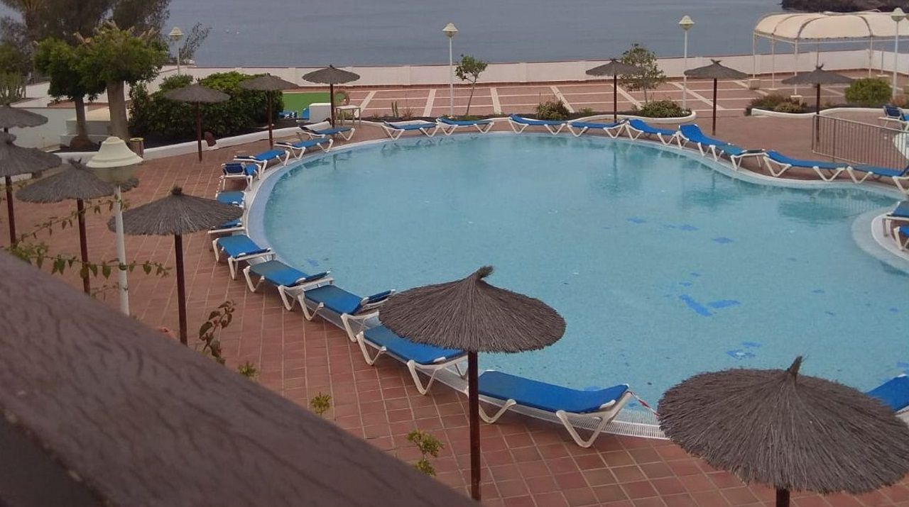 «Desde la habitación del hotel veíamos las piscinas totalmente vacías, parecía un hotel fantasma», señala Sandra Dubra