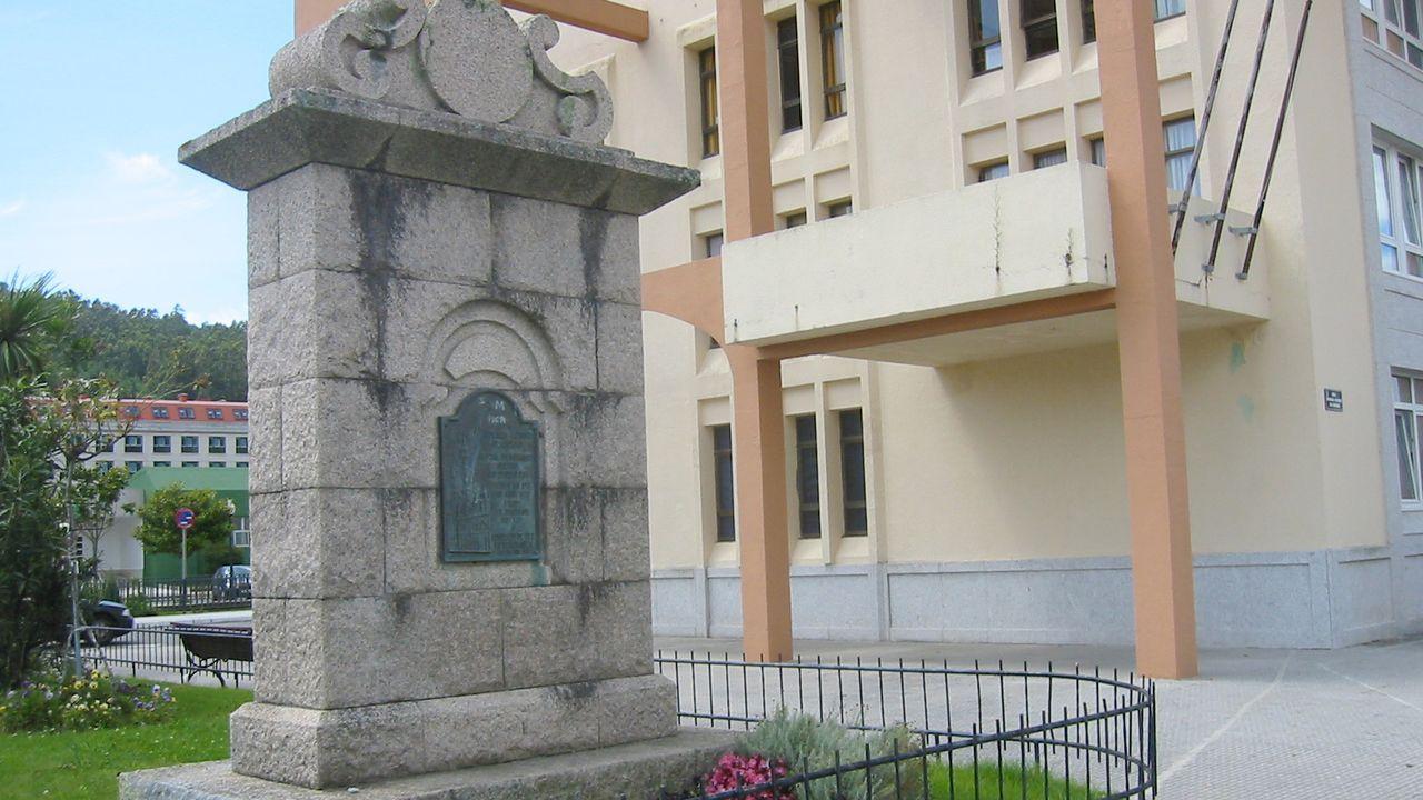 Obras de arte fuera de lugar.Primeros peregrinos que visitan los albergues del Camino de Santiago tras el confinamiento