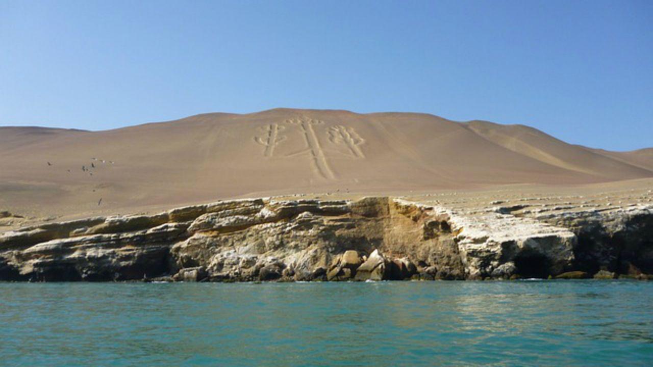 El Candelabro. Paracas