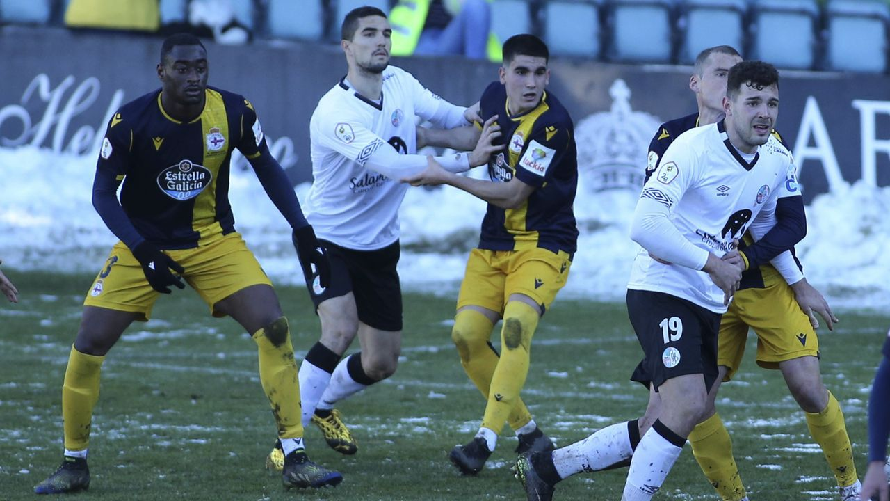 El Deportivo visitó al Salamanca el pasado domingo