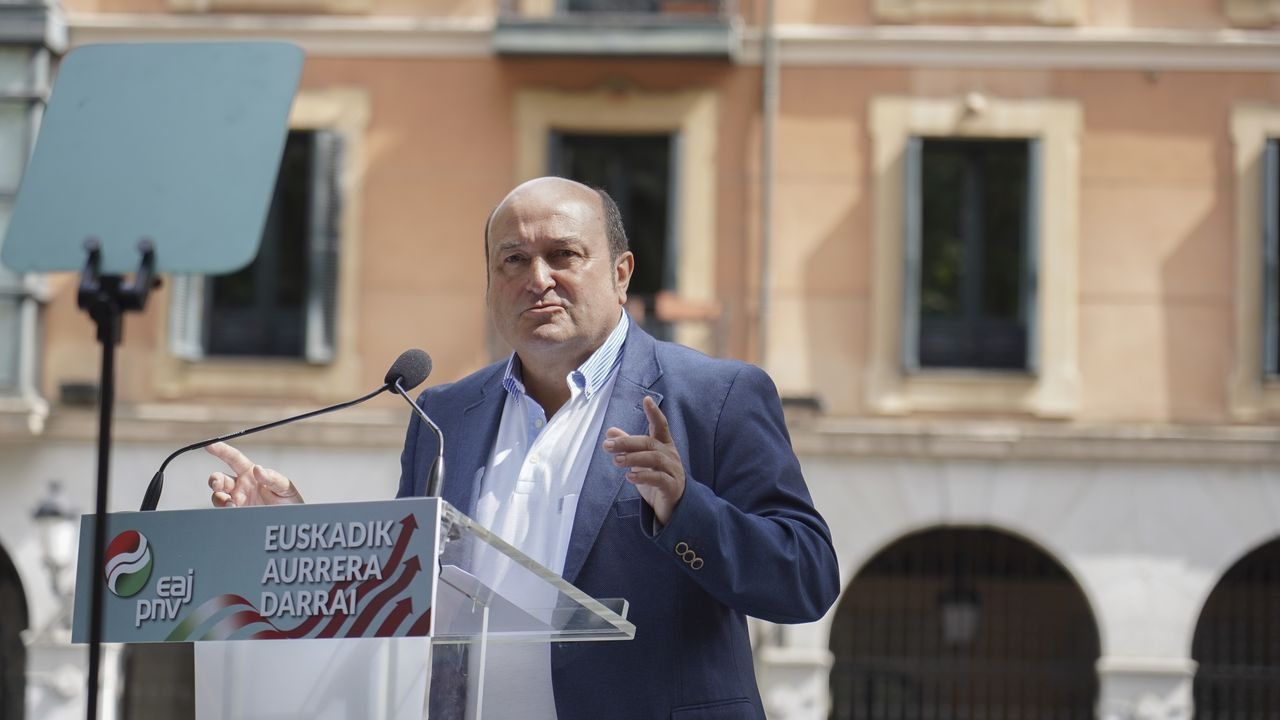 araujo.Andoni Ortuzar, presidente del PNV