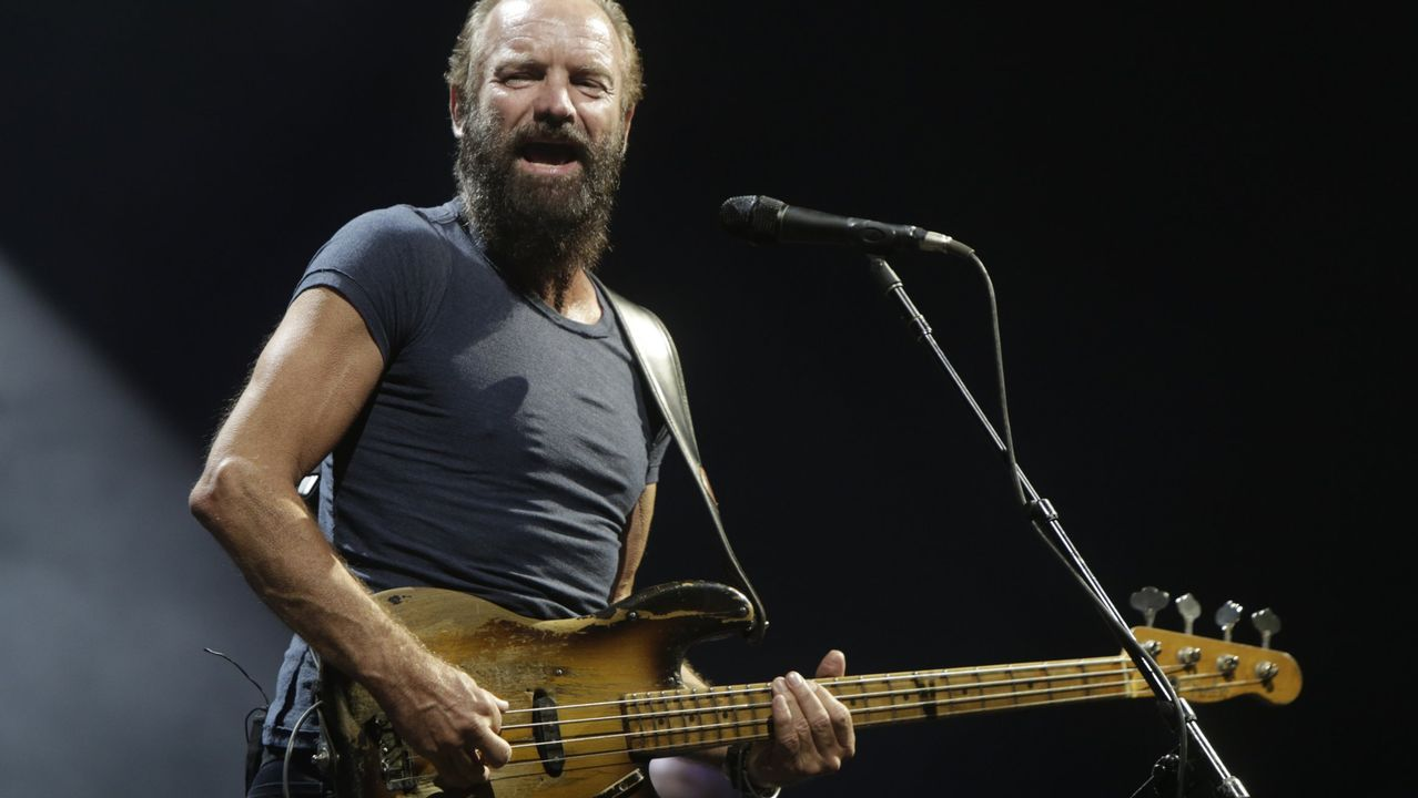 Sting, un clásico del escenario que actuará en Castrelos.El cantante y bajista británico Sting