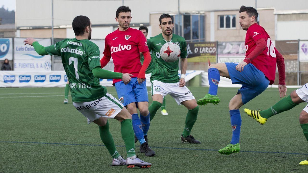 Los jugadores del Vetusta celebran uno de los goles marcados ante el Caudal en un enfrentamiento anterior