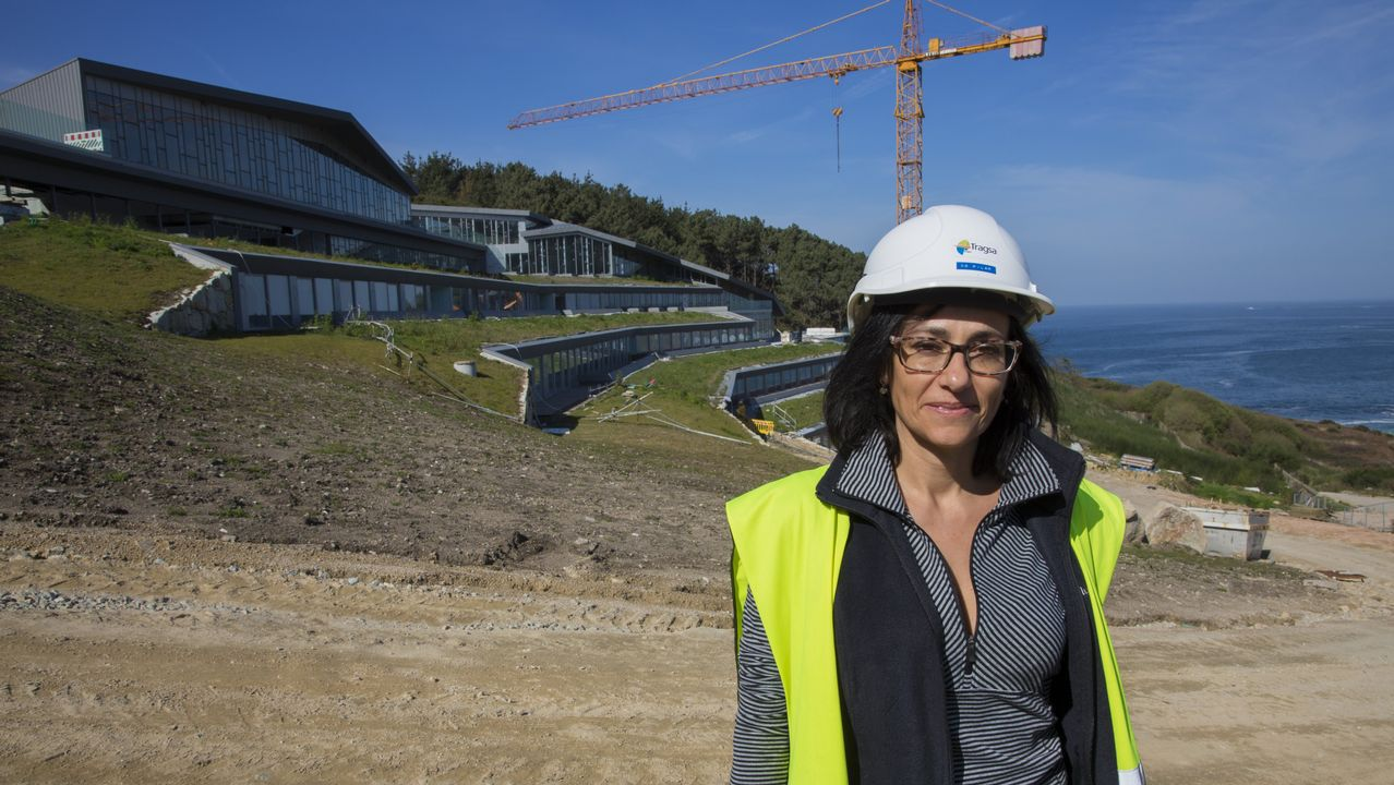 La arquitecta Pilar González es la jefa de obra al frente del proyecto de Turespaña