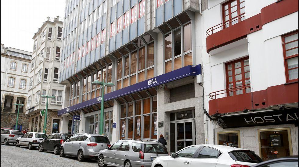Donde antes estaba el cine Callao ahora hay un banco