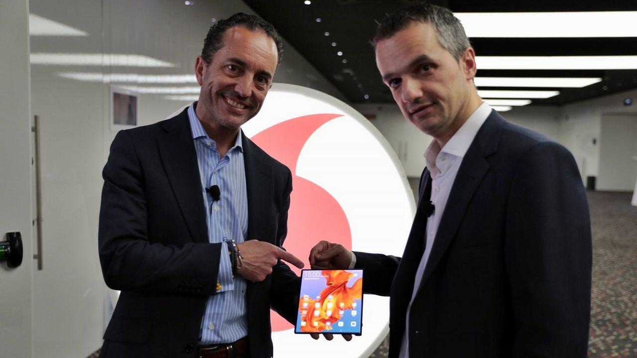 El grupo Vodafone ha llegado a acuerdos con cuatro proveedores para el suministro de smartphones 5G en un futuro
