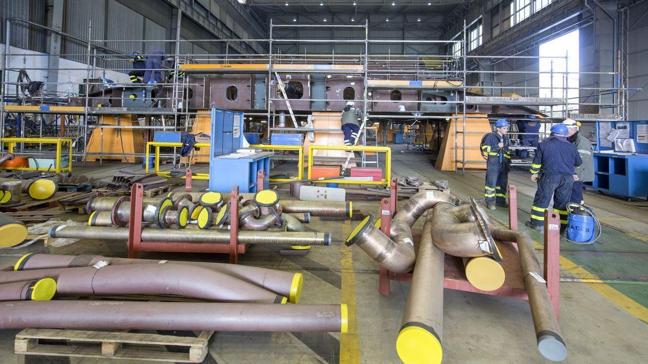 Vista de las instalaciones de Vulcano, hoy