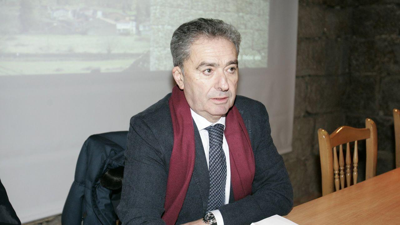 Alcalde de Xunqueira de Ambía, José Luis Gavilanes