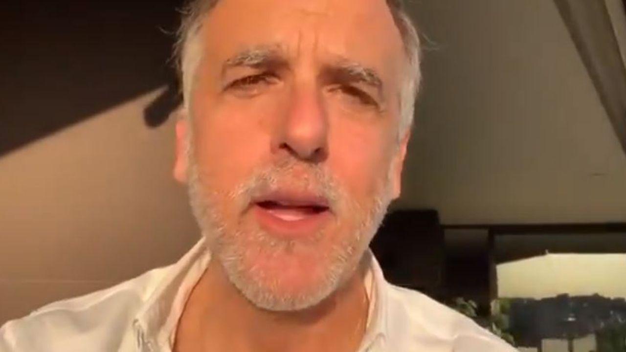 Plácido Arango.Paco Arango en uno de los vídeo que comparte en sus redes sociales
