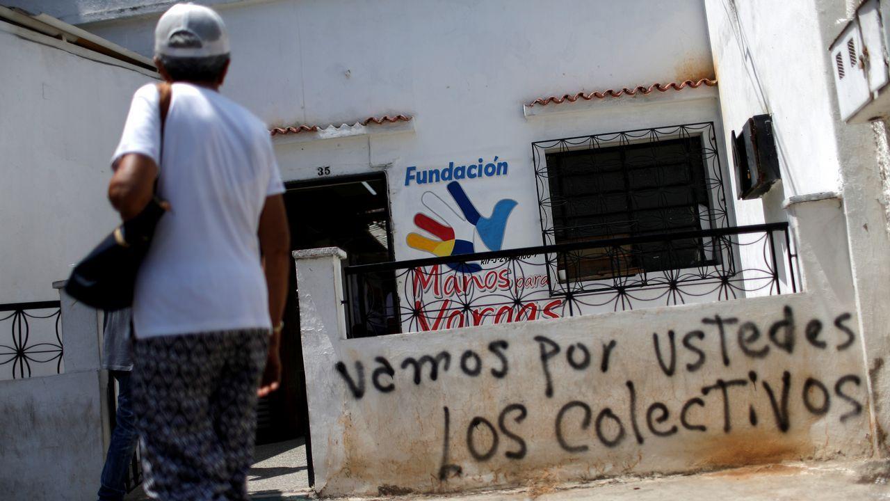 Guaidó: «Espero que la democracia española sea fuerte para hacer frente a la dictadura de Maduro».Pintadas amenazantes aparecieron en las casas de los opositores y sedes de los partidos