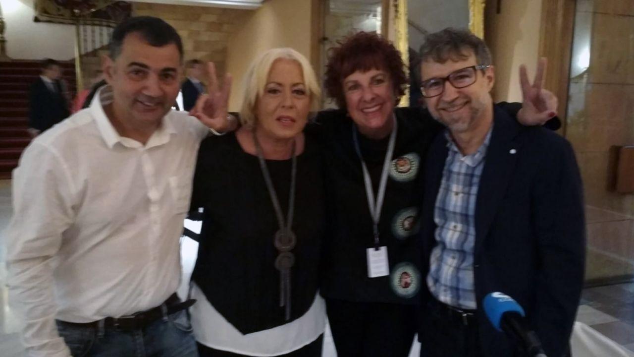 Refugio de laTerenosa.Javier Niembro, Esther Canteli, Montse Martínez y Fernando Fernández