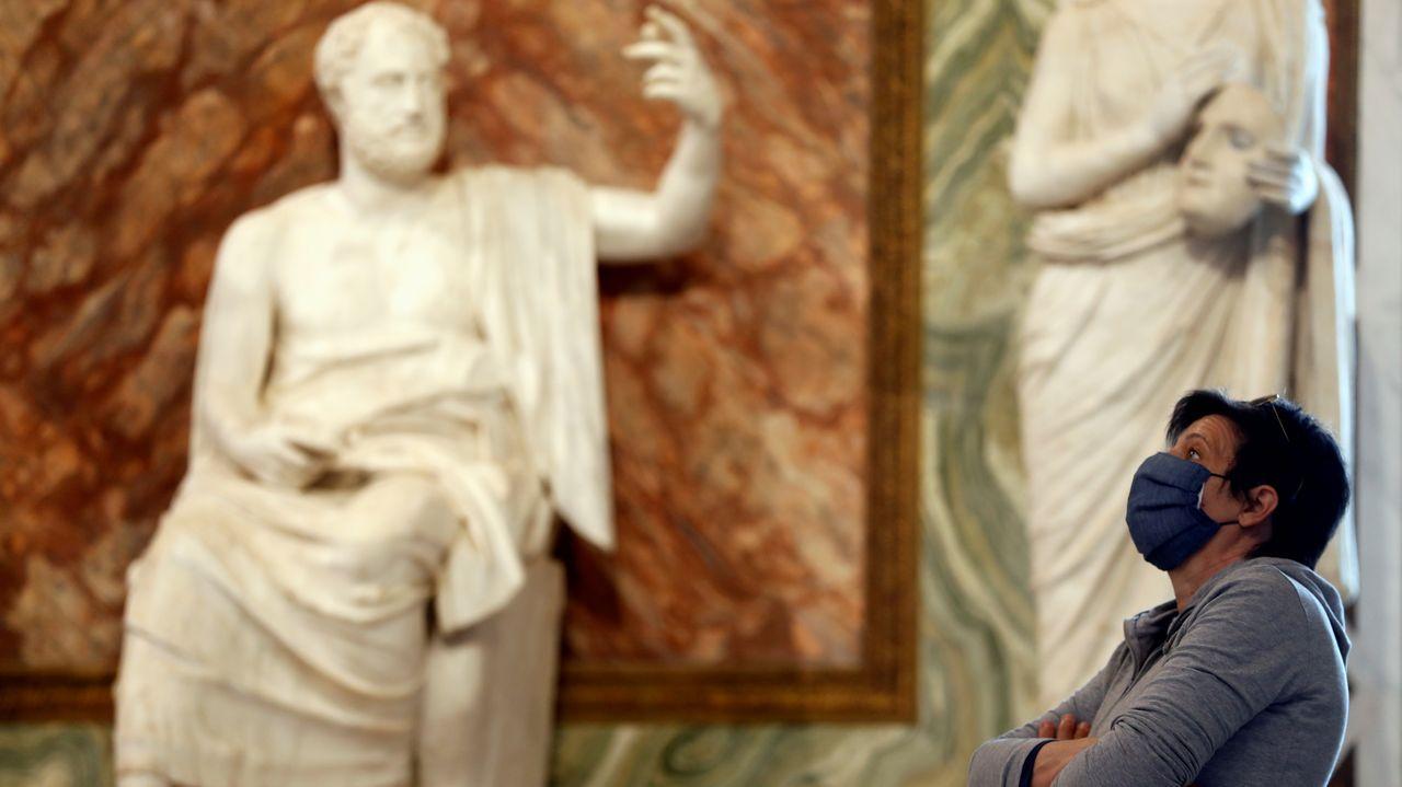 La Galleria Borghese ha reabierto en Roma, pero con un aforo más limitado y otras medidas de seguridad