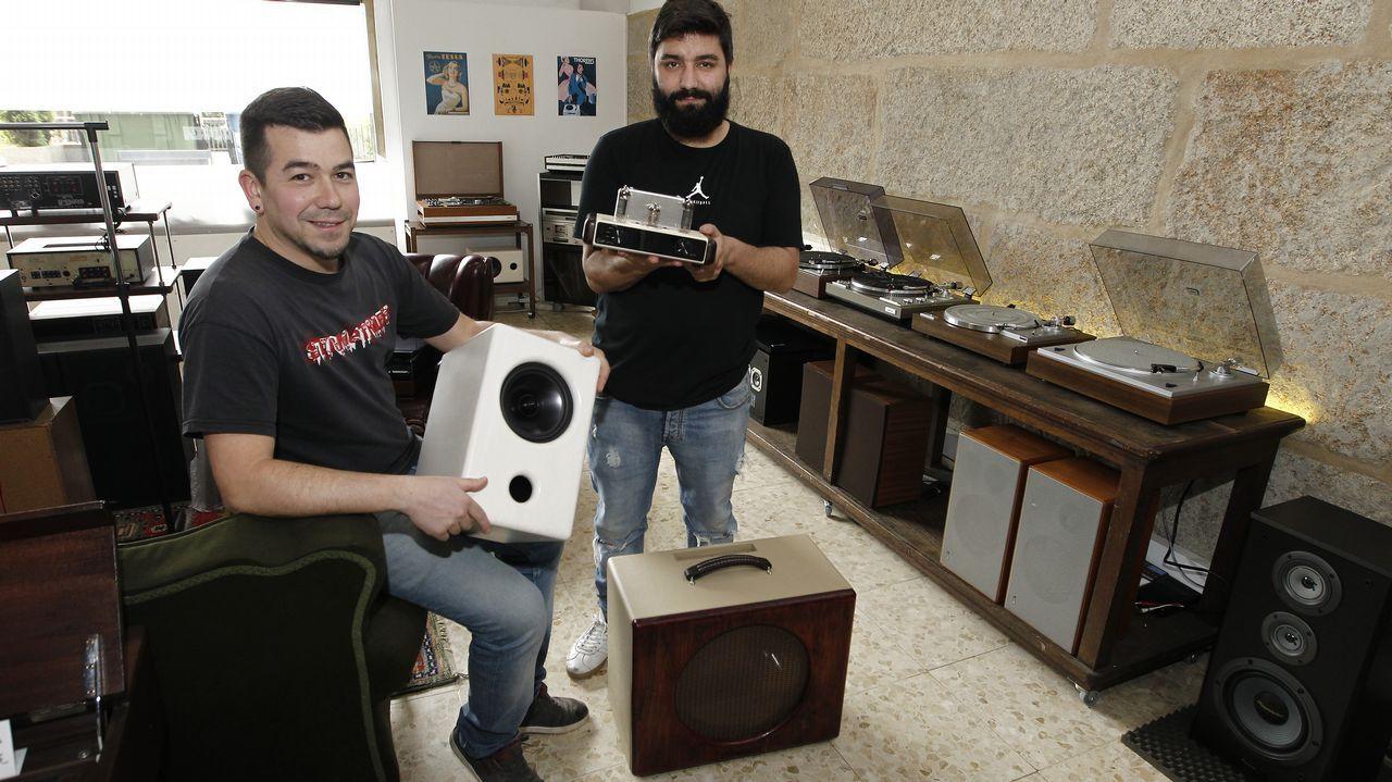 LOUDNESS, tienda de reparación y fabricación de equipos de sonido en alta fidelidad.Factoría de la Central Lechera