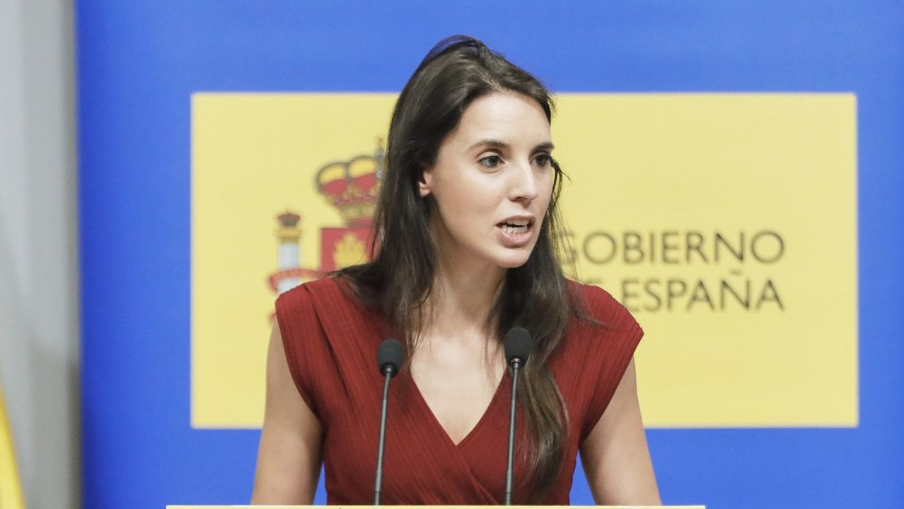 Irene Montero, en una imagen de julio del 2020