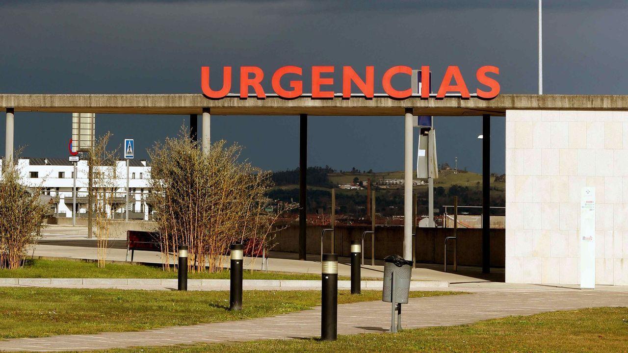 La zona de Urgencias del HUCA
