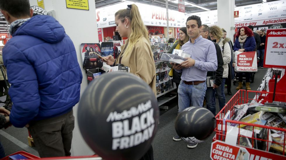 BLACK FRIDAY EN A CORUÑA: MEDIA MARK