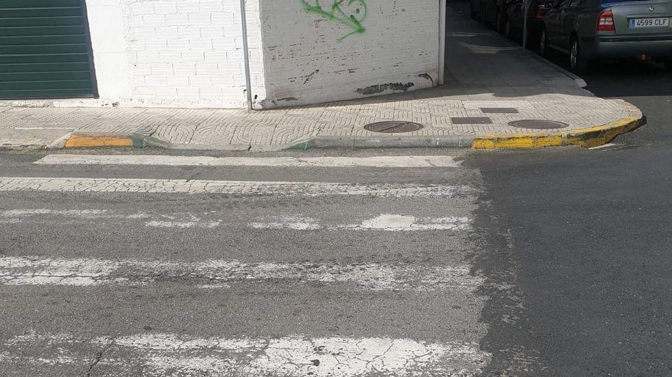 La concejala de Infraestructuras, Ana Rivas, y el alcalde, Wenceslao López