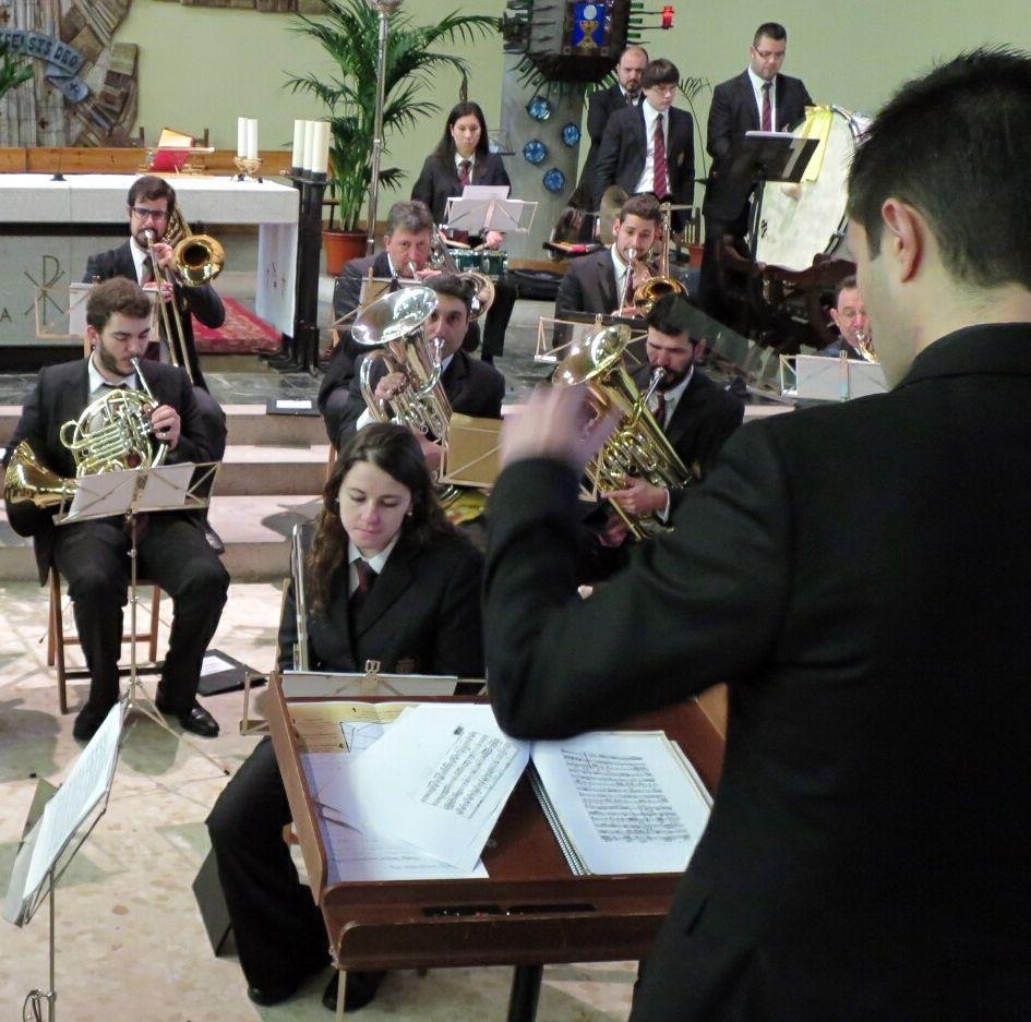 La Banda de Chantada, en concierto.
