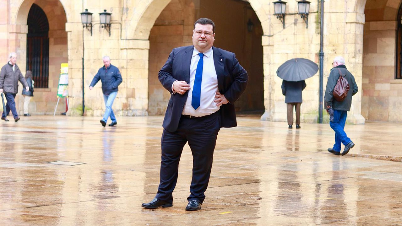 Luis Pacho, portavoz de Ciudadanos en Oviedo