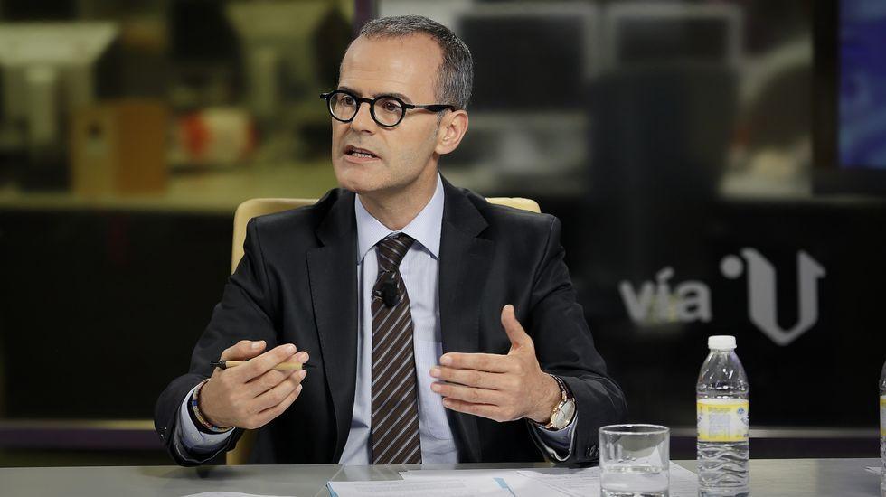 Jesús Vázquez: «Decir Arriba España es lo mismo que Arriba Galicia»