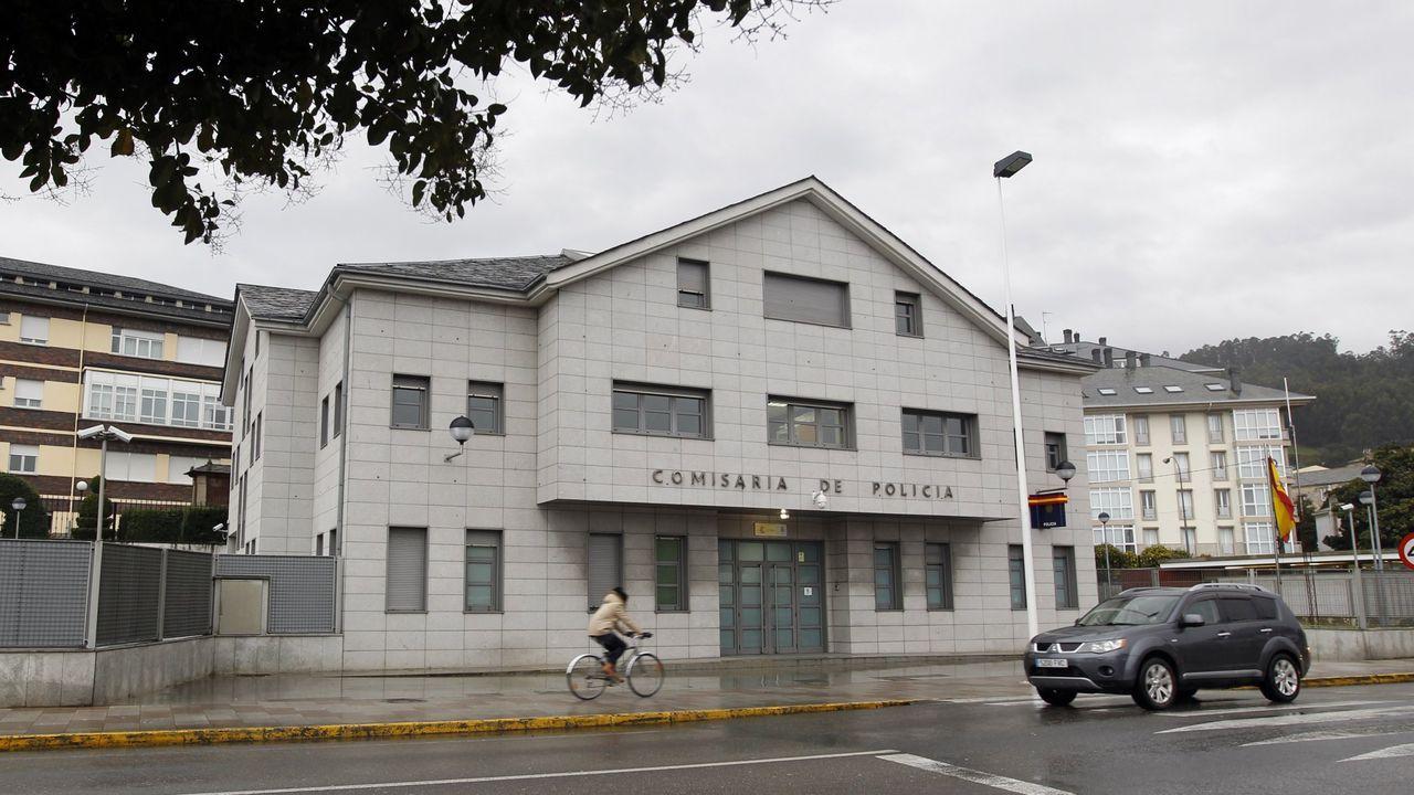 Ría del Eo.El DNI en A Mariña se renueva en la Comisaría de Viveiro, en la imagen de archivo