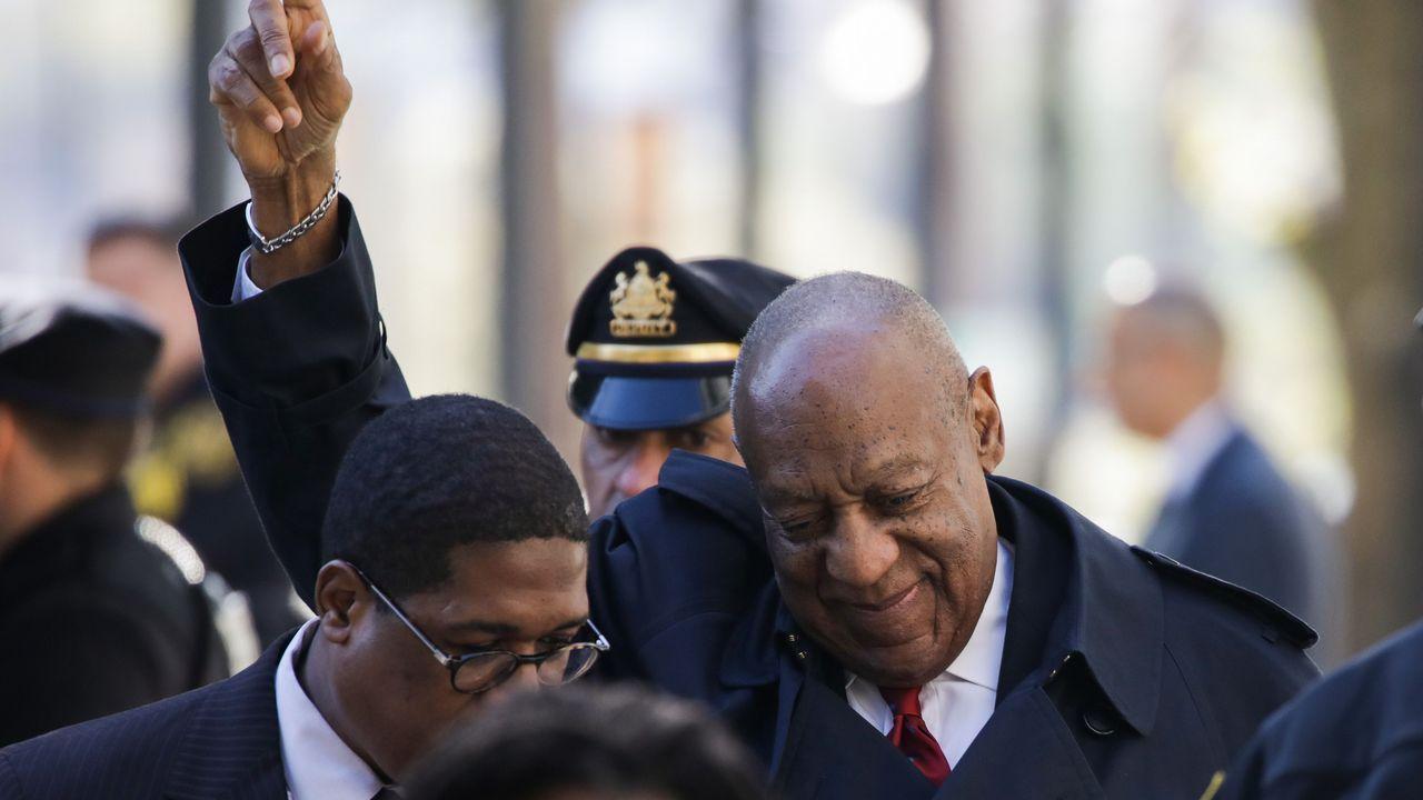 El actor Bill Cosby, en el juzgado
