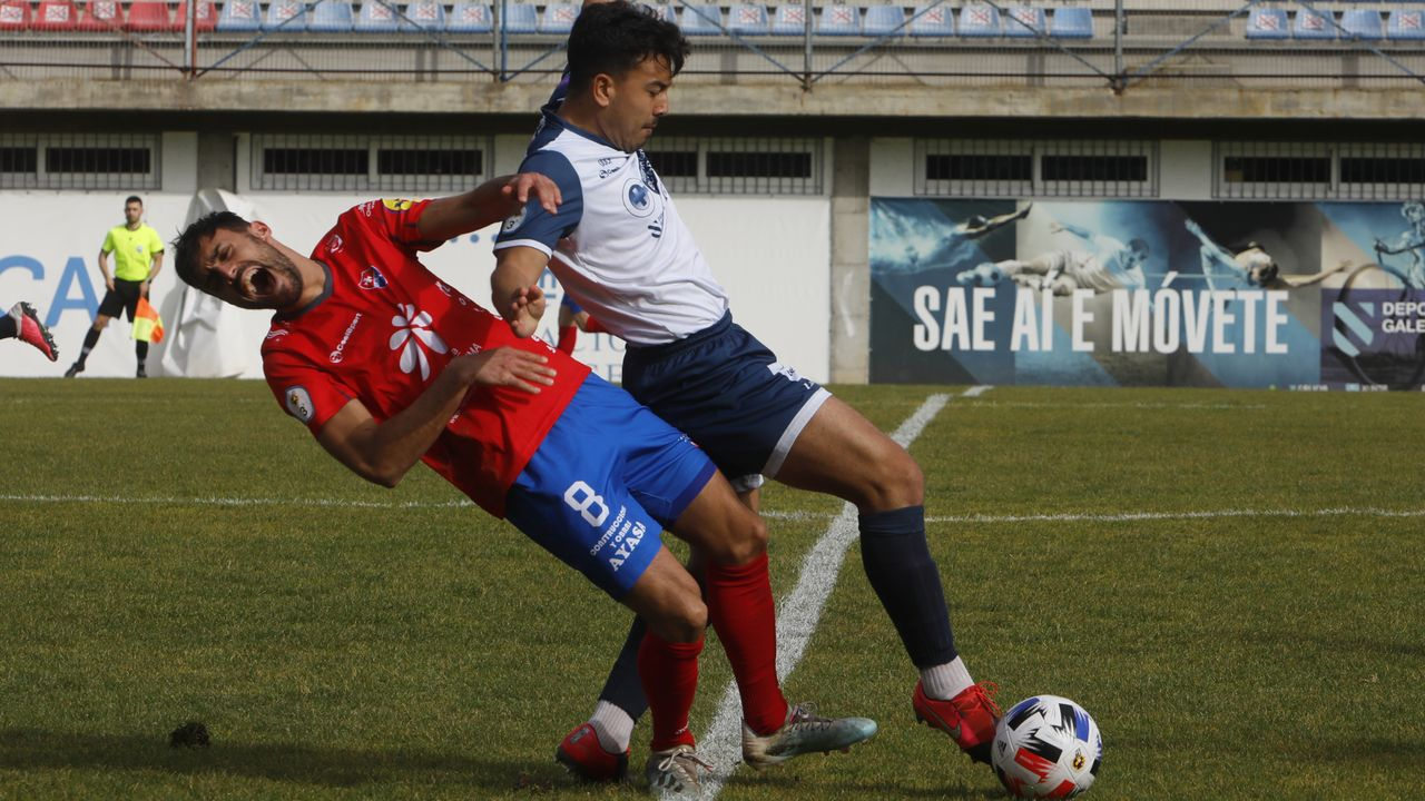Las imágenes del Ourense - Burela, el derbi de fútbol sala femenino.Iván González