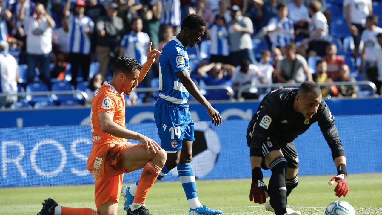 Ocón Arráiz señala el gol de Koné