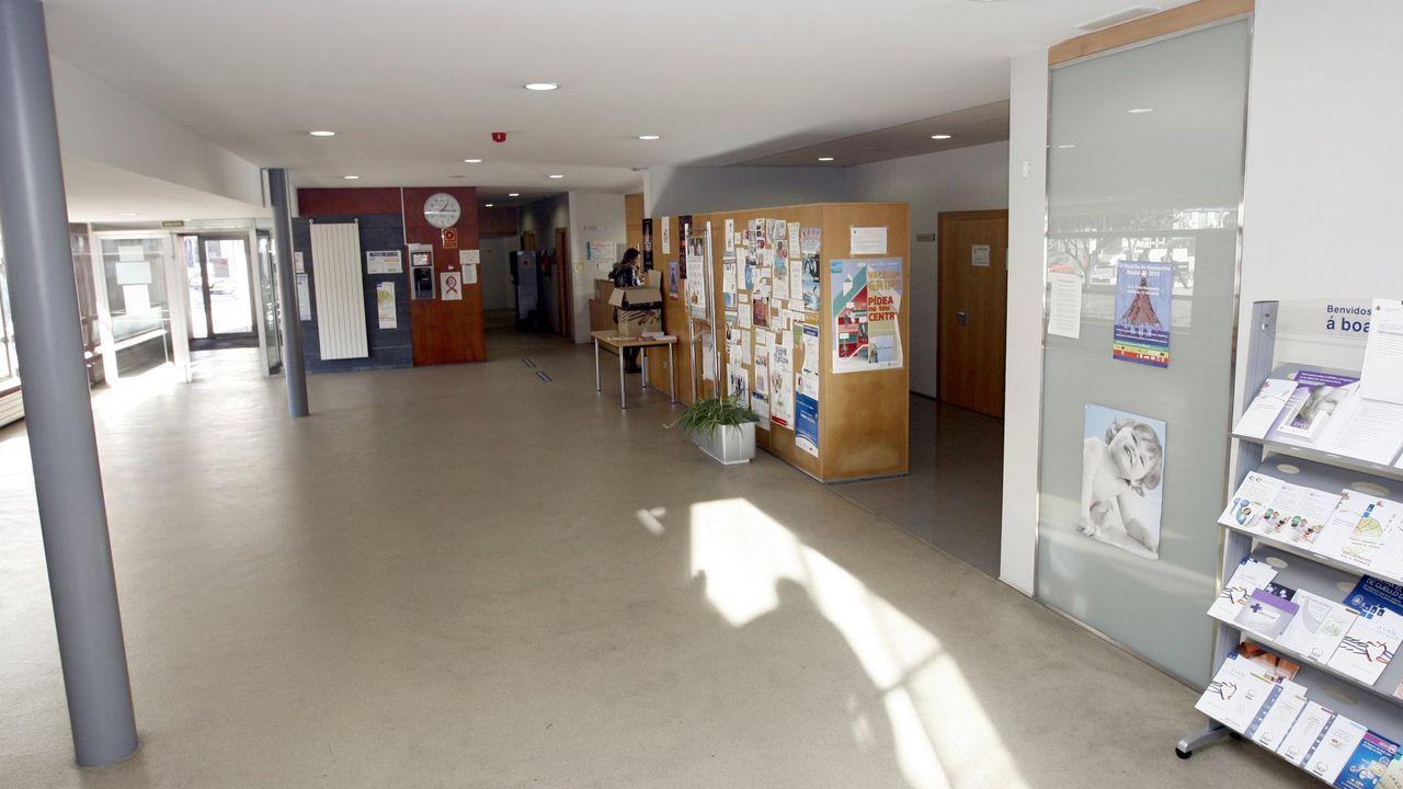Foto de archivo del centro de salud