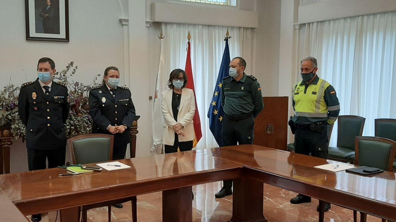 Comisaría de la Policía Nacional en Gijón.Policia local de Langreo