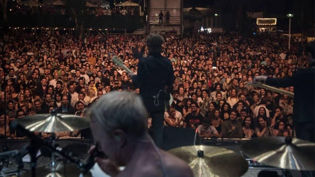 Mando Diao en el festival Metrópoli Gijón