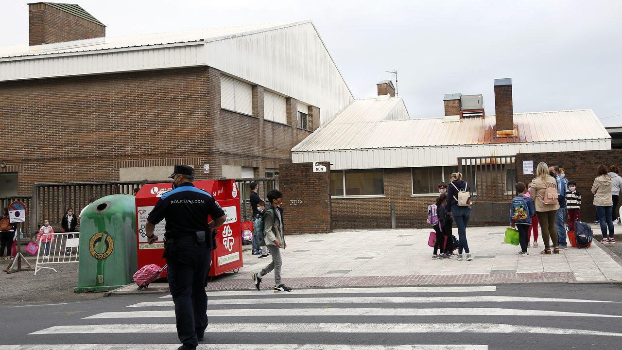 El colegio Castelao de Rianxo hay registrado caso de coronavirus
