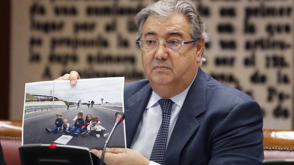 Interrogan a un hombre en el caso del niño desaparecido en Níjar.Juan Ignacio Zoido