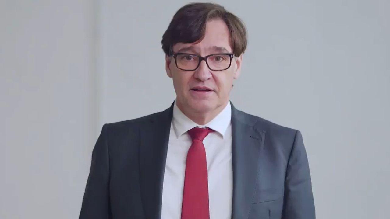 El ministro Salvador Illa