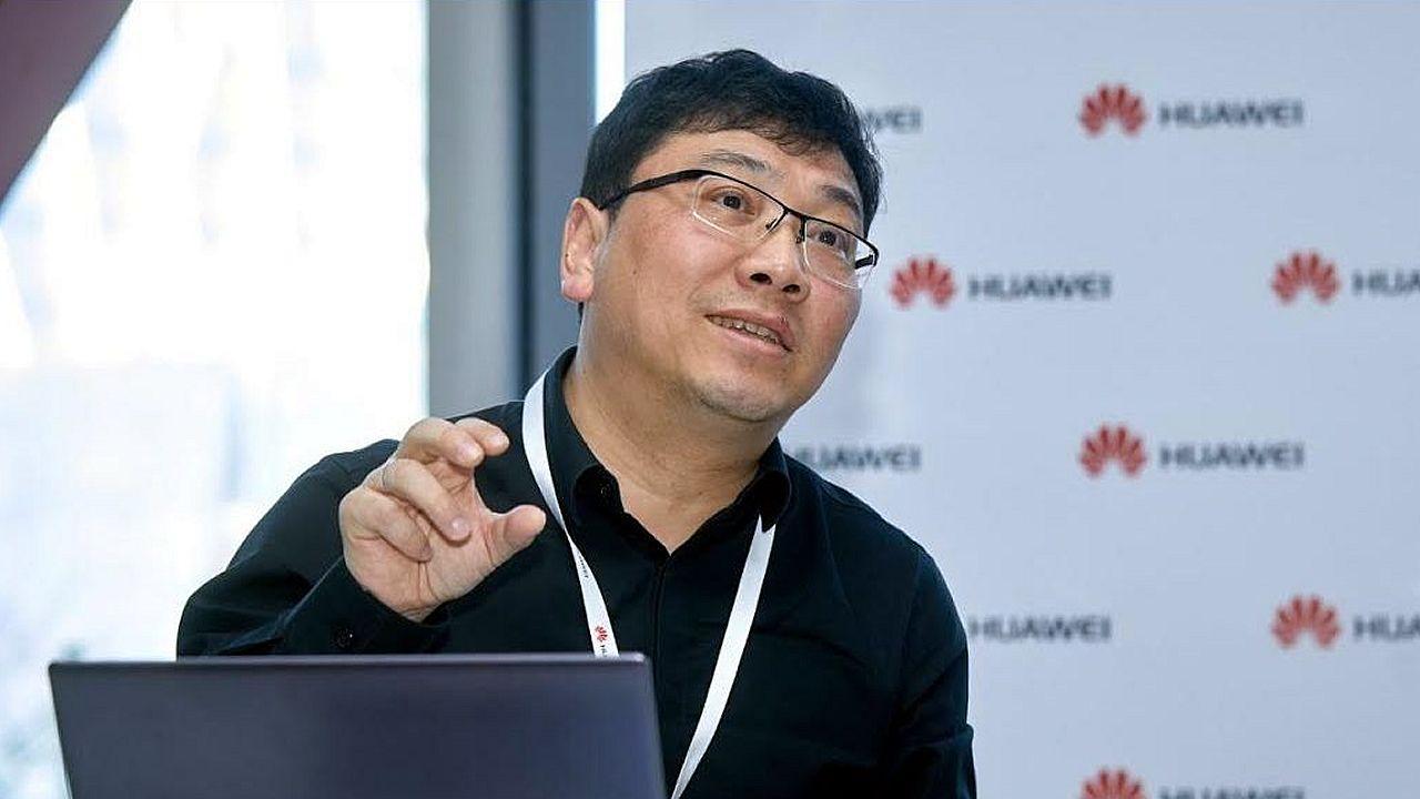 Wan Biao, miembro del consejo directivo de Huawei y responsable de Mobile Broadband y Home Device Product Line