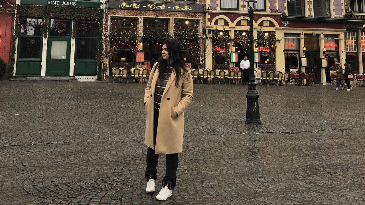 Sandra Guardado pasó su beca Erasmus en Lublin, Polonia
