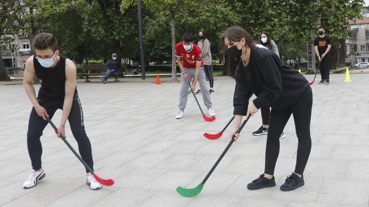 Los alumnos realizaron diferentes actividades deportivas