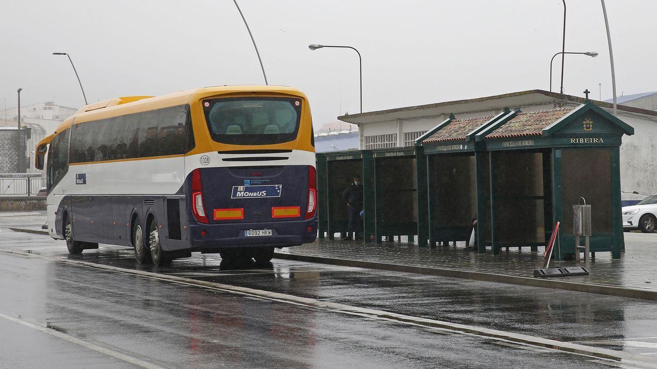 Nueva compañía de autobuses en Ribeira