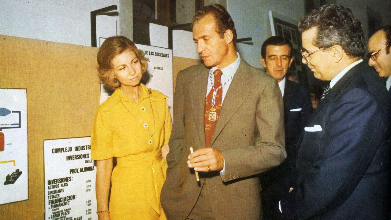 Visita a Lugo de los reyes en 1976