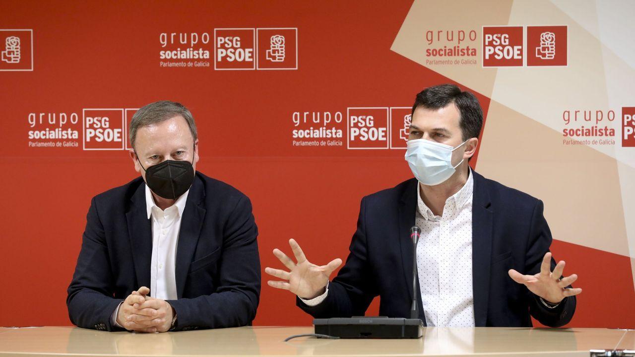 Rafael Rodríguez Villarino y Gonzalo Caballero (PSOE)