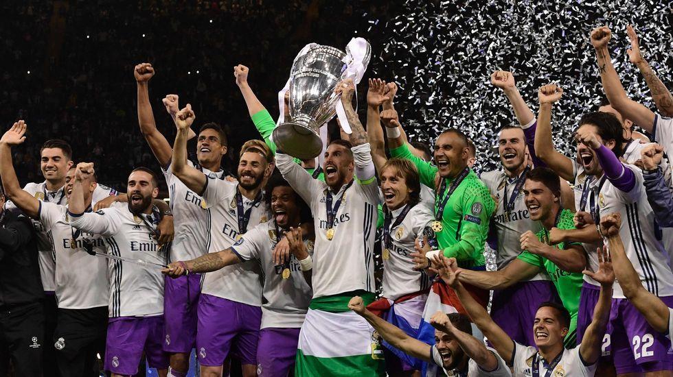 La final de la Champions, en imágenes