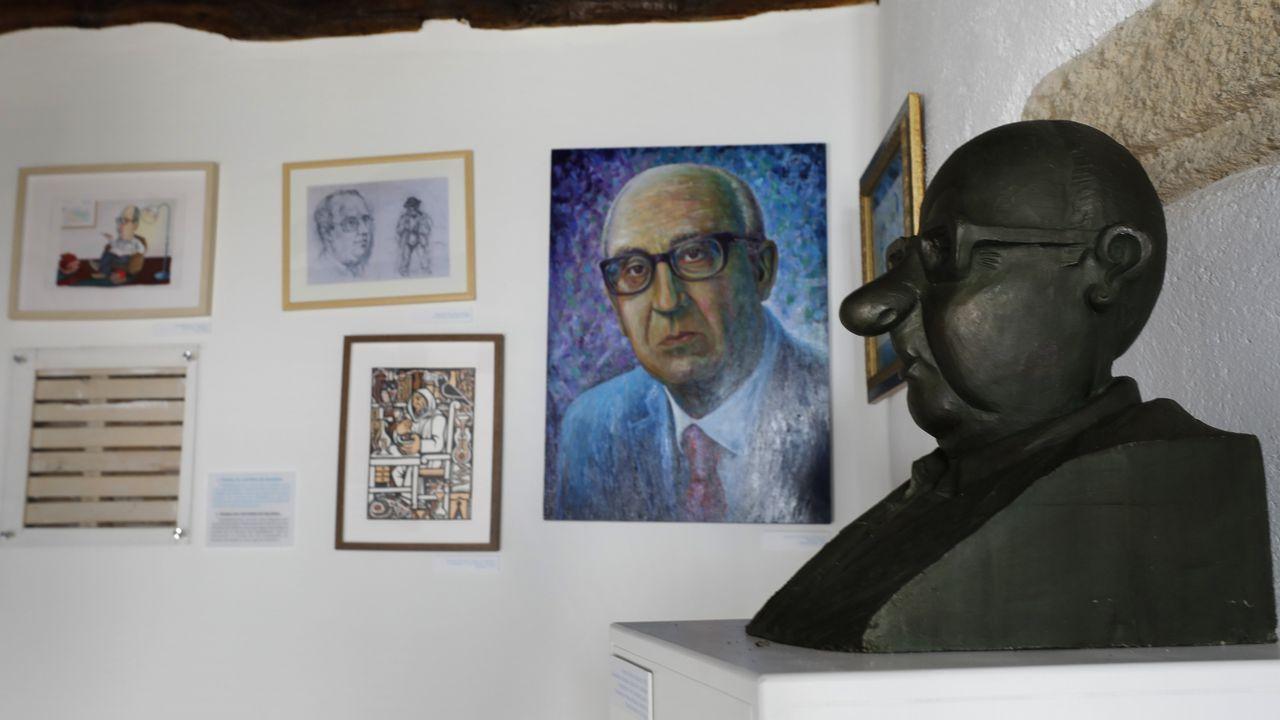 Presentación de FEST Galicia 2019.Díaz Mouteira en una reciente visita a Parada de Sil