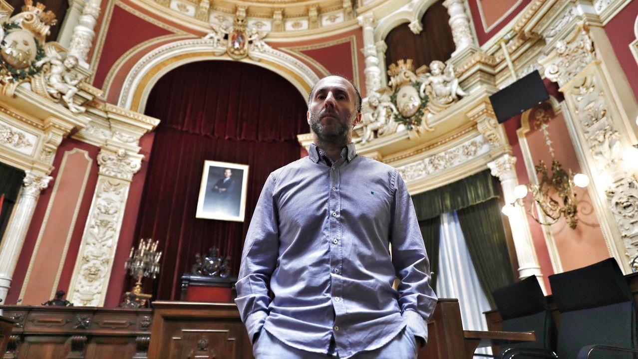 Gonzalo Pérez Jácome, alcalde de Ourense