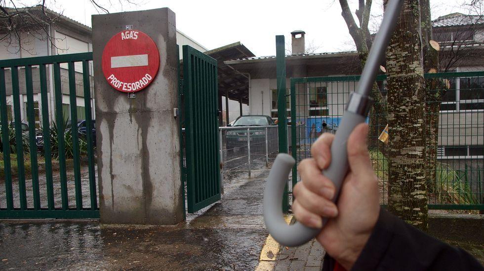 Calle peatonal de Boiro, municipio que tiene registrados diez casos de covid en los últimos 14 días