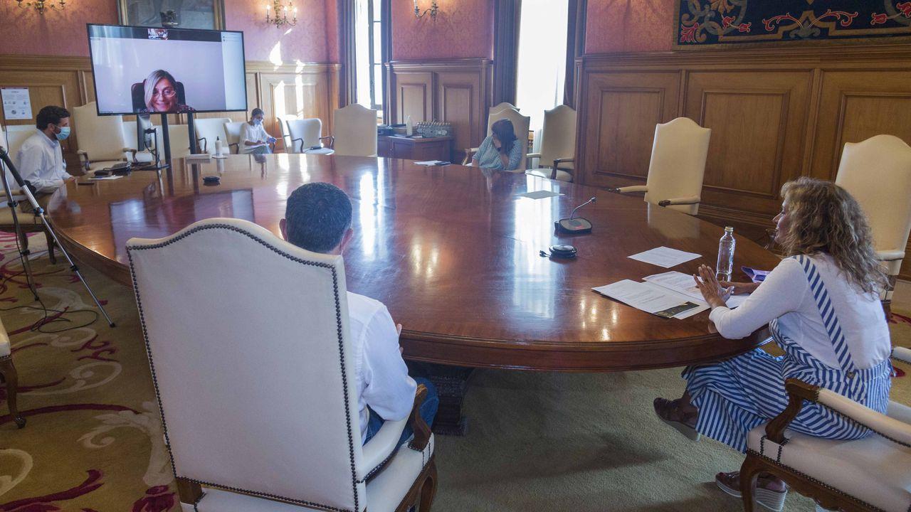 Pedro Duque sobre la integración del Instituto Oceanográfico en el CSIC.Valnalón, Sodeco y el CSIC impulsan el proyecto Open Lab Asturias